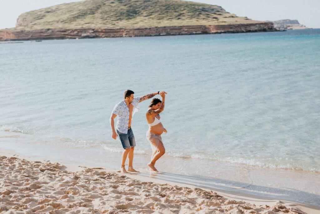 Sesion Fotografica Embarazadas Ibiza 15