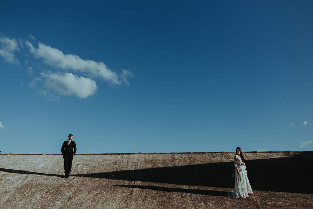 Original post wedding photographer in Ibiza: a session in Ses Salines