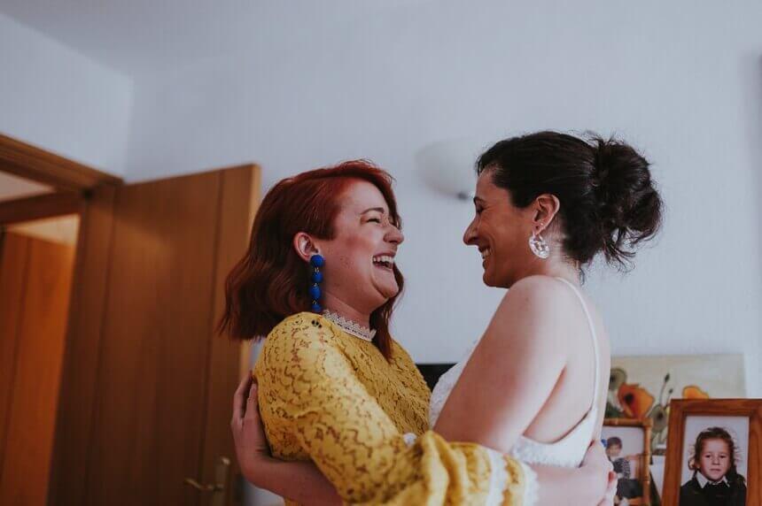 Reportaje de boda bohemia en Ibiza
