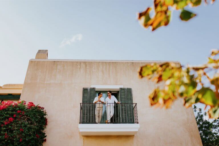 Wedding in villa in Ibiza