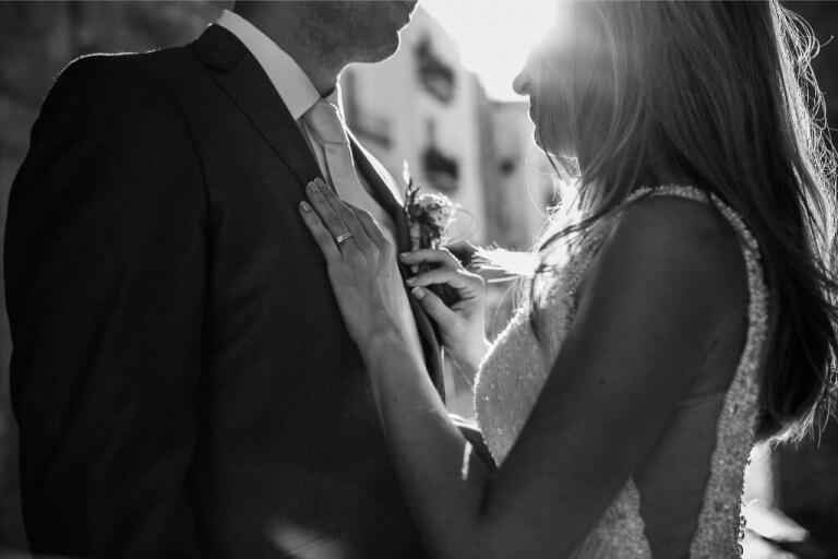 Postboda romántico en Dalta Vila