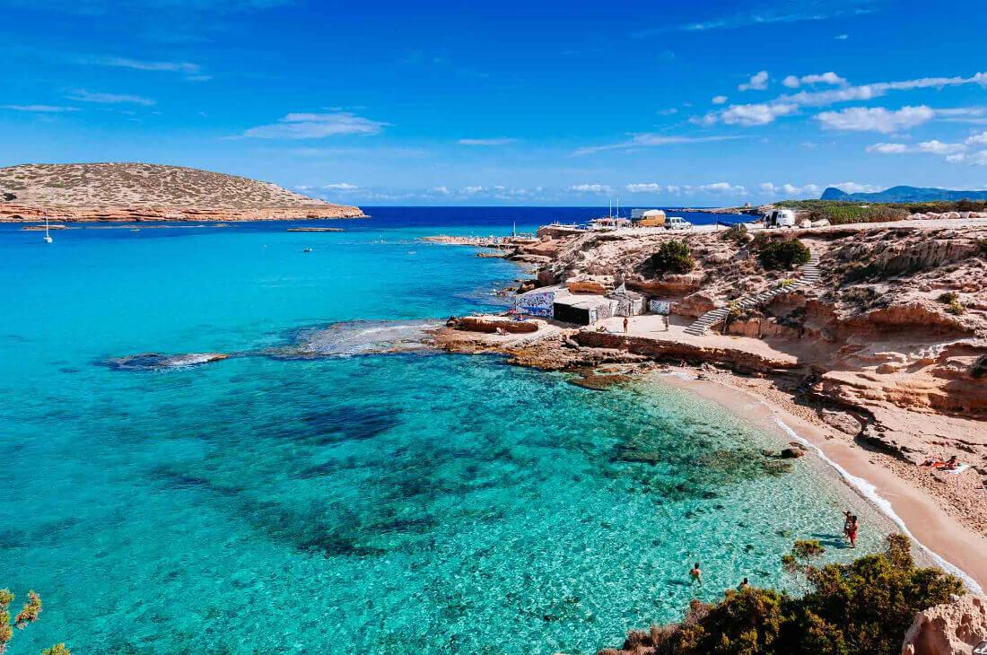 Playas Ibiza Bodas Cala Comte