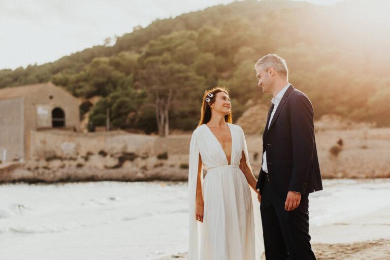 Postboda de Irina & Camilo en Playa de Ses Salines
